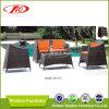 Sofá ao ar livre, sofá do Rattan, sofá de vime (DH-173)