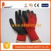 Ddsafety 2017 красных перчаток безопасности перчатки покрытия латекса хлопка