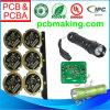 PWB para la luz portable de la antorcha del dispositivo LED del deporte al aire libre