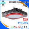 Accesorio ligero de la alta bahía del LED, lámpara al aire libre del LED