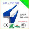 100% ha provato 1.5m 21pin Scart Cable (SY019)