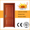 Переднее Safety Single Solid Oak Wooden Door для Home (SC-W093)