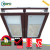 Хорошее окно наклона и поворота термоизоляции UPVC пластичное стеклянное