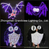 2D LED Bat en Nachtuil Design Halloween Decoration Light