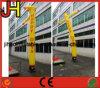 アーム10FT広告のための膨脹可能な空気ダンサーとの黄色