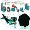 Tagliatrice dell'anello del pneumatico, tagliatrice del nastro, tagliatrice del blocco, linea di produzione di gomma della polvere