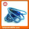 Transparentes Drucker-Kabel des Blau USB-Standard-2.0