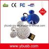 Schmucksachen 8GB USB-grelle Scheibe (YB-25)