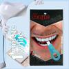 Os dentes que Whitening tiras ajustaram os dentes dentais das fontes do Whitener do dente de Whitestrips que limpam a higiene oral dos jogos