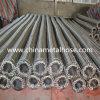 Aislante de tubo acanalado del acero inoxidable con capa de la trenza