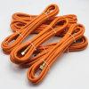1/4  boyau flexible de gaz orange de couleur de barre du point d'ébullition 60 de pouce pour le cuiseur de gaz de famille