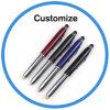 Penna di sfera promozionale di marchio su ordinazione