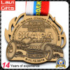 Подгонянное профессионалом медаль металла 3D с цветастой подгонянной тесемкой