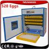 Incubadora solar portátil comercial do ovo da galinha Bz-528 com calefator Nigéria
