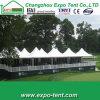 Tente blanche de luxe de pagoda de mariage d'usager