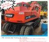 Excavatrice d'occasion 140wv de roue de Doosan dans fonctionner d'action grand !