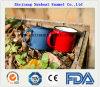 Taza de café modificada para requisitos particulares esmalte con la maneta