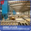El papel profesional hizo frente a la cadena de producción de la tarjeta de yeso de la pared en China