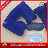 Almohadilla inflable de la línea aérea U del apoyo para la cabeza de encargo barato de la dimensión de una variable para los adultos