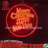 Muestras de acrílico colgantes de encargo de la tarjeta del LED encendidas para la decoración de la Navidad