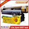 A melhor impressora larga ao ar livre do formato de Funsunjet Fs-3202g 3.2m/10FT do preço com dois Dx5 dirige 1440dpi para a impressão das bandeiras do cabo flexível
