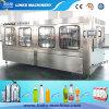 Completar puro llenado la botella de agua que capsula y máquina de etiquetado