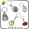 いろいろな種類の金属の硬貨のキーホルダーのための熱い販売