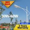 PFEILER 30W LED Straßenlaterne-Preisliste mit 6m Pole