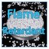 Masterbatch de plástico PA66 de fibra antiestática La adición de retardante de llama