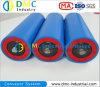 rodillos azules del transportador de las ruedas locas del transportador del HDPE del sistema de transportador del diámetro de 114m m