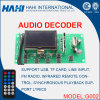 Audio scheda del decodificatore del MP3 Bluetooth per USB/SD/FM-G002