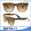 Amarelo novo do estilo e óculos de sol grandes de Brown Demi para mulheres