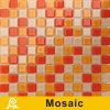 Mosaico de cristal da grama da cor quente da venda 4mm para a série do painel da cor da piscina (cor P10/P11/P12/P13)