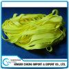 da cor larga do Orelha-Laço do respirador do amarelo N95 de 7mm faixa elástica trançada