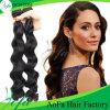 2016年のAofaの毛は100%のインド人のRemyの巻き毛の人間の毛髪を継ぎ合わせる