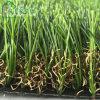 Hierba resistente ULTRAVIOLETA del sintético de la dimensión de una variable de la buena calidad 40m m C