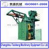 Aufhänger-Typ Granaliengebläse-Maschinen-automatisches Gleisketten-Riemen-Baumuster des Haken-zwei