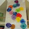 De veelkleurige Schotel van de Kunst van de Muur van het Glas