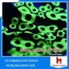 Magenta fluorescent/au néon de Digitals de sublimation d'encre de Yellow& pour l'impression de tissus