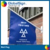 Wall Mounted promotionnel Flags avec Custom Design