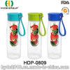 Nuova bottiglia di acqua di plastica di Infuser della frutta di Tritan di bello disegno (HDP-0809)