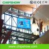 Panneau-réclame polychrome de l'IMMERSION DEL de Chipshow P10 annonçant l'affichage