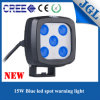CREE LED Warning Work Blue Light di 4D Optic Lense