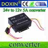 Одновыходовой тип конвертер 24V DC-DC 60W к преобразователю частоты 12V 5A