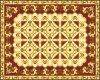 Mischung Design Golden Porcelain Tile für Backgroud Decoration120*120cm