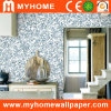 Buntes Luxury PVC Wallcovering mit Wallpaper Glue