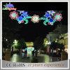 Luz decorativa de la decoración de la calle de la Navidad LED del día de fiesta al aire libre
