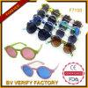 Óculos de sol F7100 redondos coloridos com preço barato UV400