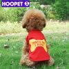 Le chien de Xsmall vêtx le chien vêtant le T-shirt en ligne de chien