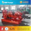 Pomp van het Water van de diesel Brandbestrijding Motor van de Met motor & Elektrische de Gedreven Centrifugaal